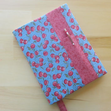 Composition Notebook Cover~ Happy Cherries~ Makes a Great Gift ~ Shipping Included in the Price
