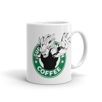 Super Sayian Coffee Vegeta Mug