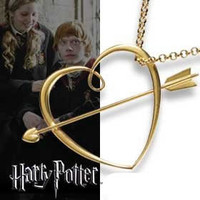 """Ronald """"Ron"""" Weasly's - Ronron Sweetheart Necklace - Harry Potter Movies Novelty"""