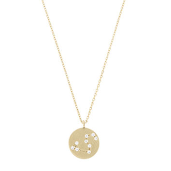 Accessorize | Constellation Leo Pendant | Gold | One Size | 3826908100