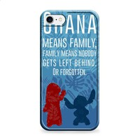 Ohana Stitch Lilo disney iPhone 7 | iPhone 7 Plus case