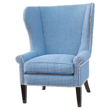 Preferred Best Wingback Chairs Blue Products on Wanelo LX91