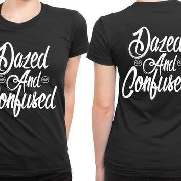 Dazed And Confused Cover 2 Sided Womens T Shirt