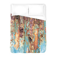 Rusted Metal Duvet Cover