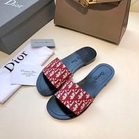 DCCK Dior Women's Leather Fashion Sandals