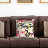 X-Men Comic Cover Pillow Cover , Custom Zippered Pillow Case One Side Two Sides
