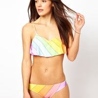 Wildfox Rainbow Bikini at ASOS