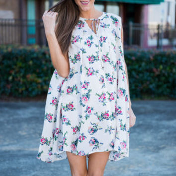 Blossom Up Dress, Ivory