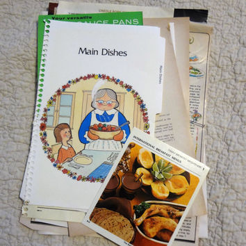Kitchen Ephemera for Journaling, Altered Arts, Art Journals, Junk Journals, Smash Books, Collage