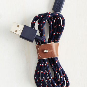 It's Power Never Charging Cable | Mod Retro Vintage Electronics | ModCloth.com