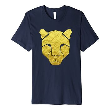 Panther Tshirt Unisex African Gold Graphic Hipster Cool Tee