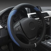 Durable Breathable Comfortable Car Steering Wheel Cover