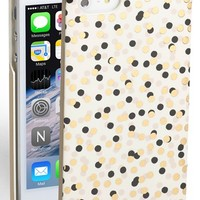 Women's kate spade new york 'confetti' iPhone 5 & 5s case - White