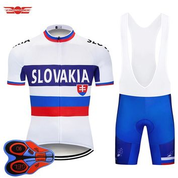 Tour de France Pro Team BULE Cycling Jersey Set MTB Bicycle Clothing Breathable Bike Wear Men's Short Maillot Culotte suit