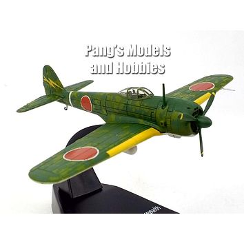 Nakajima Ki-43 Hayabusa Oscar Japanese Fighter - 1/72 Scale Diecast Metal Model by Atlas
