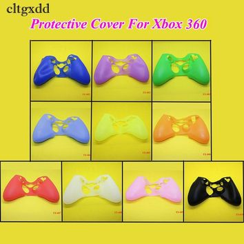 cltgxdd Colorful Silicone Soft Skin Protective Case Cover for XBOX 360 Game Controller for Child Game Accessories