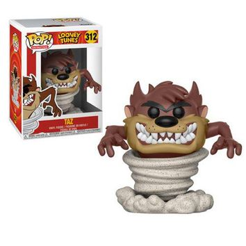 Preorder July 2018 Looney Tunes Tornado Taz Pop! Vinyl Figure #312