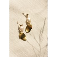 Impressionist Pearl Earrings - Christine Elizabeth Jewelry