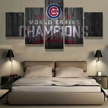 World Series Champions Chicago Cubs Canvas Print