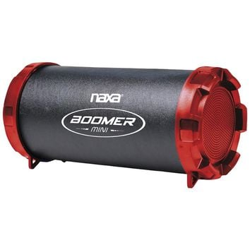 Naxa Boomer Mini Portable Bluetooth Speaker (red)