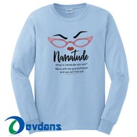 Nanatude Graphic Sweatshirt Unisex Adult Size S to 3XL