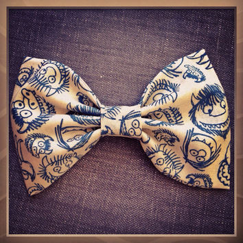 Where the Wild Things Are handmade fabric bow tie or hair bow