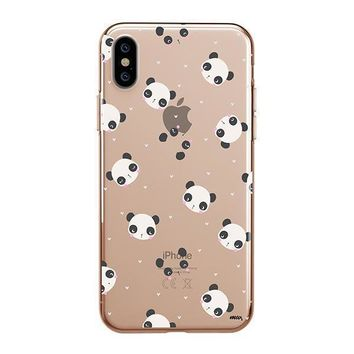 Pandamonium - iPhone Clear Case