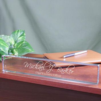 Personalized Desk Name Plate