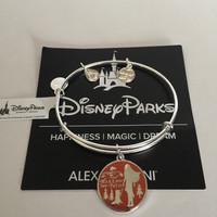 Disney Pocahontas Make Your Own Path Bangle by Alex and Ani Silver Finish New