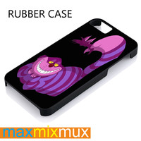 Disney Alice Wonderland Cheshire Cat iPhone 4/4S, 5/5S, 5C, 6/6 Plus Series Rubber Case
