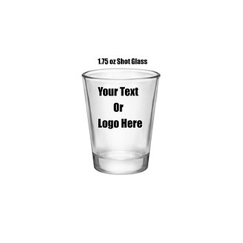 Custom Personalized Designed Shot Glasses