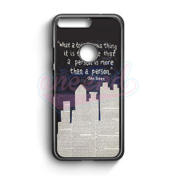 John Green Paper Towns Quotes Cover Google Pixel Case | aneend.com