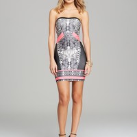 WOW Couture Dress - Printed Bandage