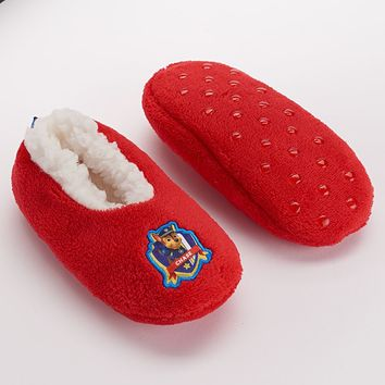 Paw Patrol Chase Slippers - Toddler Boy (Red)