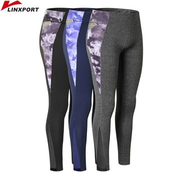 Sexy Women Yoga Capris Printed Dry Fit Sport Pants Fitness Gym Pants Workout Running Tight High Elastic Leggings Female Trousers