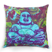 Hippie Buddha Pillow