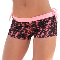 Body Angel | Body Angel Activewear Lace Shorts
