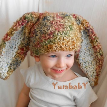 Boy Bunny Hats Toddler Hat Photo Props Crochet Easter Clothes Flop Eared Bunny Hat