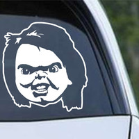 Chucky (c) Child's Play Die Cut Vinyl Decal Sticker