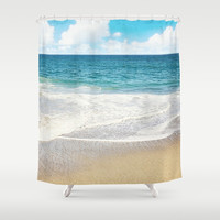 beach vibes Shower Curtain by sylviacookphotography