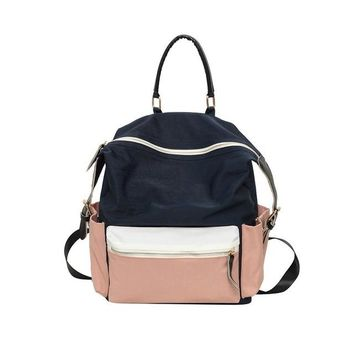 Cool Backpack school 2017 Canvas Teenager Girls School Book Bag Women Fashion Cool Colorful Travel Backpack Female Large Back Pack bolsos mujer S609 AT_52_3