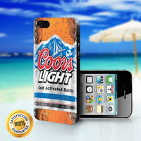 Fresh Coors Light - For iPhone 4/4s, iPhone 5, iPhone 5s, iPhone 5c case. Please choose the option