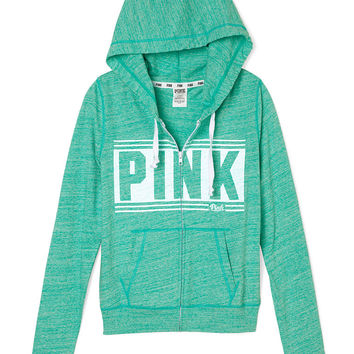 Beach Zip Hoodie - PINK - Victoria's Secret