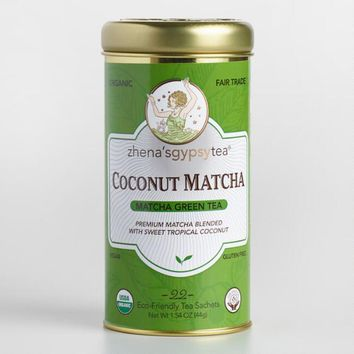 Zhenafts Matcha Coconut Tea
