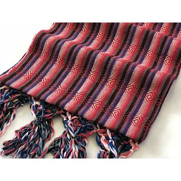 Mexican Rebozo Shawl - Butterfly Wings