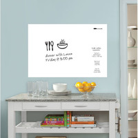 Wall Pops WPE0446 Dry Erase White Message Board Decal