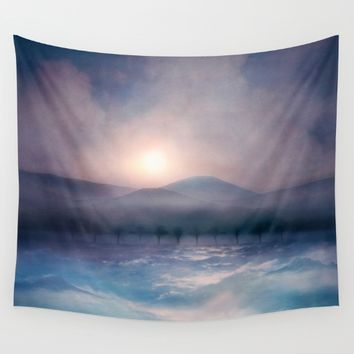 Sunset I C. IV Wall Tapestry by Viviana Gonzalez