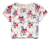 Boxy Floral Pocket Tee (Kids)