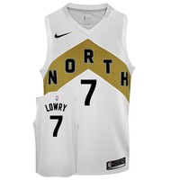 Toronto Raptors Nike Men's Swingman OVO City Edition Jerseys - Kyle Lowry - Best Deal Online