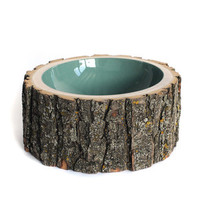 I liked this design on #Fab. Log Bowl Clear